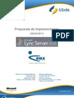 GMX-Propuesta Lync Server 2010_bSide v2