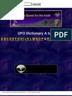 ufo dict