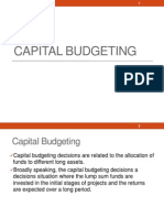 capital budgeting with illustration and theory
