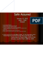 January Safe Assured