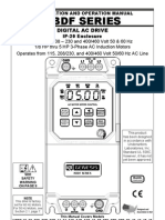 KBDF AC Drive Series Manual