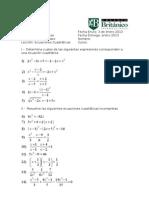 Deber 6 Ecuaciones Cuadráticas