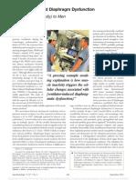 disfuncion diafragmatica e n ventilacion inducida