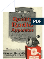 1919_General Radio Co. Catalog of High Quality Radio Apparatus