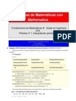 Interpolación con Mathematica