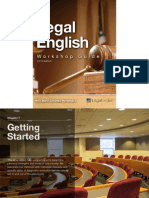 Excerpt of the Legal English Workshop Guide
