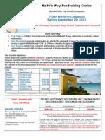 Kaity's Way Fund Raising Cruise 09292013