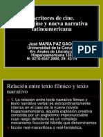 Escritores de Cine_nueva Narrativa Latinoamericana