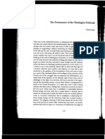 On the Permanence of the Theologico-Political? claude lefort