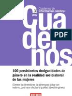 100 Desigualdades de Genero en El Ambito Laboral