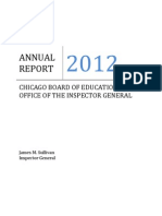 OIG FY 2012 Annual Report