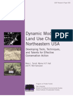Dynamic Models of Land Use Change in Northeastern USA