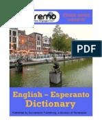Parleremo English-Esperanto Esperanto-English Dictionary 1ed