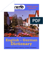 Parleremo English-German German-English Dictionary 1ed
