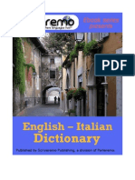 Parleremo English-Italian Italian-English Dictionary 1ed