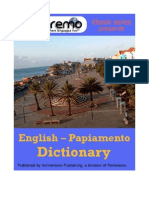 Parleremo English-Papiamento Papiamento-English Dictionary 1ed