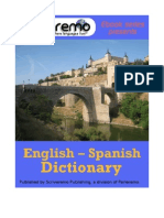 Parleremo English-Spanish Spanish-English Dictionary 1ed