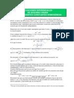 2-Ecuaciones Diferenciales de Segundo Orden-sol-homogenea