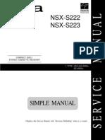 aiwa nsx-s222-223