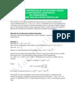2-Ecuaciones Diferenciales de Segundo Orden-sol-particular
