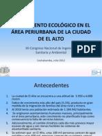 SANEAMIENTO ECOLÓGICO EN EL ÁREA PERIURBANA DE LA CIUDAD DE EL ALTO
