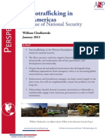 Narcotrafficking in the Americas - An issue of national security