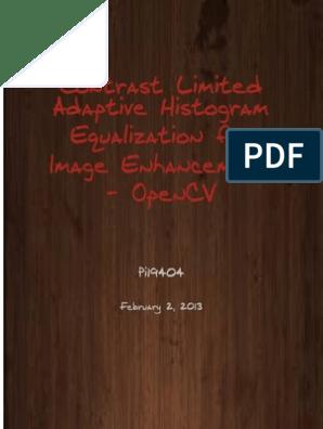 Control Limited Adaptive Histogram Equalization for Image