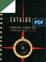 1936_General Radio Co. General Catalog