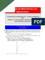 Determinación de bucles en el método de Newton