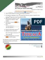 Como Por Votar Lago Titicaca