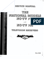 1949_Service Manual for the National NC-TV7W and M Television Reciever