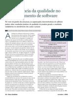A Importancia Da Qualidade No Desenvolvimento de Software