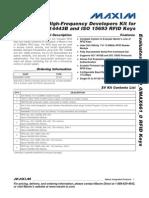 Rfid Kit for Max66901-k00
