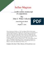 Libellus Magicus - J.G. White collection