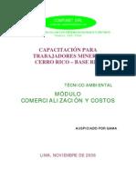 Capacitacion para trabajadores mineros