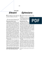Romanian-English Bible New Testament Ephesians