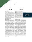 Romanian-English Bible New Testament Luke