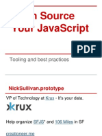 Open Source JavaScript