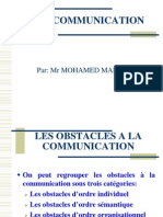 les obstacles de la communication