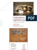 Subliminal Metropolis Catalog   Curated by Anne Maniglier