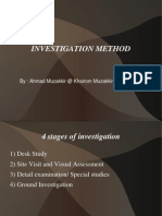 Investigation Method