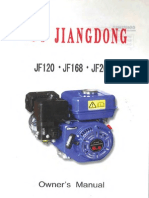 Jiangdong Motor Owner's Manual