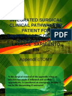 Integrated Surgical Clinical Pathway for Patient for Appendectomy