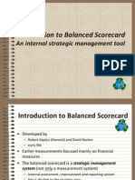 Intro to Balanced Scorecard