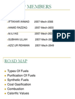 Types of fuels