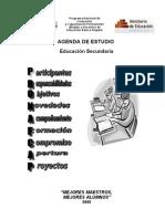 AGENDA DE ESTUDIOPRONAFCAP 2008.doc