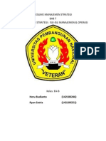 Resume Bab 7 Implementasi Strategi Isu-Isu Manajemen & Operasi