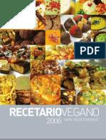 Recetario vegano