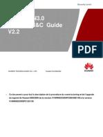 SFR SRAN DBS3900 Commissioning Guide V2.2