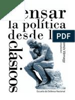 Varnagy Pensar La Politica Desde Los Clasicos